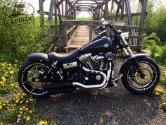Best classic cars and more! Harley Fat Bob, Harley Davidson Fat Bob, Harley Dyna, Harley Bobber, Hd Motorcycles, Harley Davidson Motorcycles, Harley Davison, Street Bob, Custom Harleys
