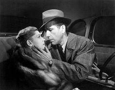 "Lauren Bacall and Humphrey Bogart in ""The Big Sleep"", 1946"