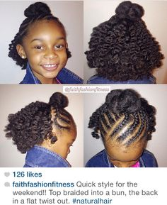 Children's Natural Hairstyles Magnificent Easy Mohawk  Frohawks  Pinterest  Mohawks Girl Hairstyles And
