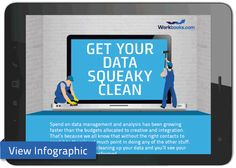 Get Your Data Squeaky Clean – Our Tips [INFOGRAPHIC]
