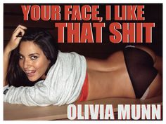 VeryBusyPeople - Your Face, I Like That Shit: Olivia Munn
