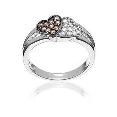 Bling Jewelry Petit Bracelet Coeurs Pave CZ en /Émail Blanc Laiton Plaqu/é Or pour Les Petits Poignets 5,5 Pouces