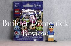 LEGO Donald Duck Minifigure 71012-10 Disney Series Review