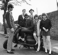 MOD: Mod is youth subculture of the early to mid-1960s that was revived in later decades. Focused on fashion and music, the subculture has its roots in a small group of London-based stylish young men in the late 1950s who were termed modernists .... http://en.wikipedia.org/wiki/Mod_(subculture)