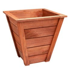 Flowers will flourish beautifully within the safe and stylish home of our handcrafted cedar planter. Durably made of rot-resistant wood, each stave is hand-assembled with a tongue-and-groove method for maximum tightness.