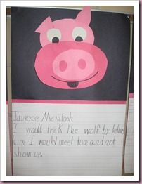 "How To Trick a Wolf. A great writing prompt for ""The Three Little Pigs."""