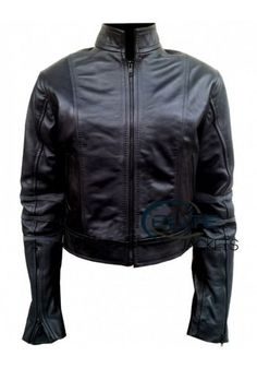 Looks stylish jessica alba leather jacket for #female jacket #looks provide confident in your personality.