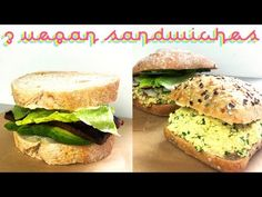 3 Vegan Sandwich Ideas