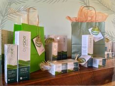 CurAloe, the perfect holiday gift! Www.curaloe.com  free gift wrapping with your order when requested.