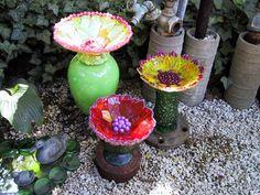 Glass Flowers from the Back Garden of Weird Gardens