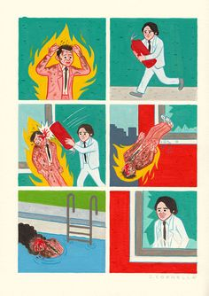 Comic artist Joan Cornellà