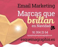 En #Navidad es cuando las marcas brillan. El #marketing navideño ya ha empezado, y con él la magia, la ilusión, los mensajes emotivos, las felicitaciones, las promociones… ¿Quieres que tu marca brille estas navidades? Aprovecha ahora que tenemos todos una sobredosis de ternura para mandar un #Email Marketing que aumente tus ventas y fidelice a tus clientes para que tu marca sea de las que brillan sobre las demás.