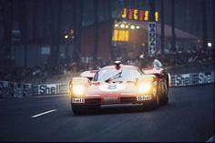 Le Mans 1970. N°8 Ferrari 512S (1034) Arturo Merzario/Clay Regazzoni (Scuderia Ferrari)