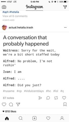 I laughed way to much at this The allies having dinner together 😂😂 Hetalia Headcanons, Hetalia Funny, Axis Powers, Anime Shows, Puns, Nerdy, Hilarious, Jokes, Fandoms