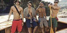 Arthur Kulkov, Sam Way, Max Rogers and Andre Douglas - Tommy Hilfiger S/S 2012 campaign by Craig McDean. Sam Way, Tommy Hilfiger, Details Magazine, Craig Mcdean, Male Figure, Cute Photos, Gq, Male Models, Sexy Men