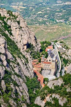 Monestir de Montserrat, Catalonia, Spain