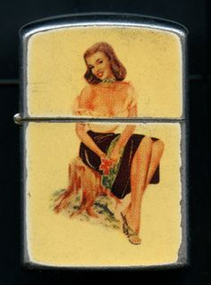 Pinup lighter