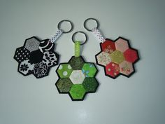 FREEBIES FOR CRAFTERS hexagon key ring and LOTS of other patterns and ideas!