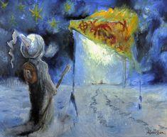 Pilgrim, Illustration Art, Painting, Pilgrims, Painting Art, Paintings, Drawings