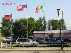 La Estacion 25' & 20' Flagpole Display