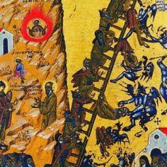 The Demonology of St. John of the Ladder of - The Demonology of the Ascetic Fathers Jacob Jacob, Biblical Hebrew, Biblical Art, Masonic Symbols, Russian Icons, Demonology, Byzantine Art, Orthodox Christianity, Orthodox Icons
