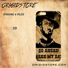 Go A Head Make May Day Clint Eastwood For Iphone 6 Plus Case Gift Present - Multiple Choice Material