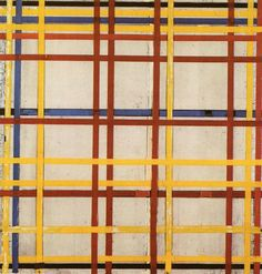 New York City II by Piet Mondrian
