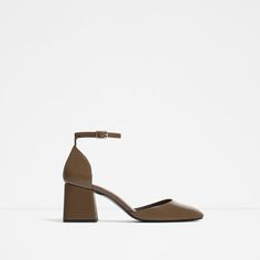 ZARA - WOMAN - D'ORSAY SHOES WITH ANKLE STRAP