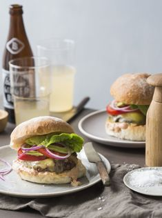 Chelsea's Cheeseburgers with secret sauce