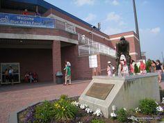 Frawley Stadium - Wilmington, Delaware Delaware Bay, Wilmington Delaware, Minor League Baseball, Beautiful Places, Logos, House Styles, Heart, Sweet, Sports