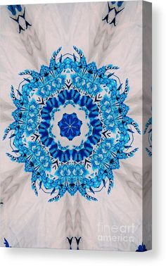 0020 Canvas Print featuring the digital art 0020 by Aileen Griffin