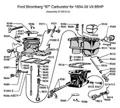00d52e64c2168cdf03f530eaac8652ae stromberg car parts wiring diagram for 1937 ford wiring pinterest ford 1937 ford wiring diagram at crackthecode.co