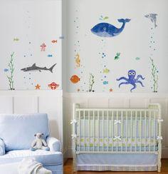 O adesivo de parede Fundo do Mar, da I-Stick (www.istickonline.com), tem 170 cm por 120 cm e custa R$ 179. Preço consultado em maio de 2013 e sujeito a alterações