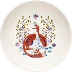 TaikaSyvä lautanen, 22 cmvalkoinen (4kpl puuttuu)