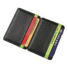 Hot Slim Magic Wallet leather Purse Small Wallets Carteira Magica Porte Monnaie  | eBay