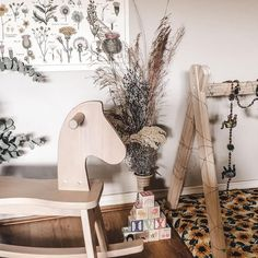 """Boori Australia on Instagram: """"With a few simple adjustments our wooden Tidy Rocking Horse can also become a small sturdy bench. ✨ It's the perfect finishing touch for…"""" French Nursery, Bohemian Nursery, Nursery Inspiration, Woodland Nursery, Rockers, Ladder Decor, How To Become, Bench, Farmhouse"""