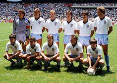 WC England XI v Argentina, Quarter Final, Mexico City, 22 June (Photo: Peter Robinson via Getty) England National Football Team, England Football, National Football Teams, Arsenal Football, Peter Robinson, Retro Football, Pure Football, England Players, England International