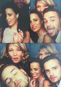 1D Updates @1D_Updates_EU   Liam, Sophia and Caroline at the Great Gatsby Photobooth!