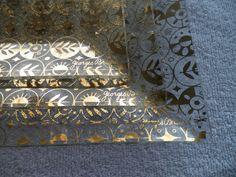 Georges Briard Forbidden Fruit Platter Set of by OldSowellShop