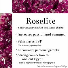 Roselite crystal meaning