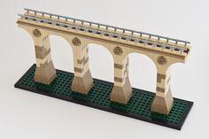 Lego Viadukt Altenbeken MOC Architecture