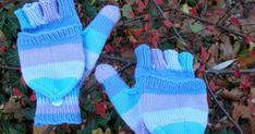 Knitting For Beginners, Knit Crochet, Gloves, Winter, Womens Fashion, Handmade, Anton, Loom Knit, Fingerless Gloves Knitted
