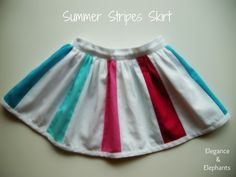 The inspiration: an adorable skirt I pinned on Pinterest... source This skirt fits my daughter's 50cm (19 1/2in) waist a lit...