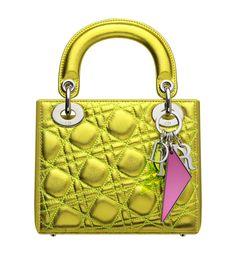 Dior-small-metallic-yellow-leather-Lady-Dior-bag-1.jpg (1280×1386)