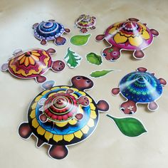 Summer Visit - Hattifant's Turtle Family - Hattifant