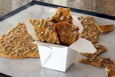 Pumpkin Cooking Tips and Recipes: Pumpkin Seed Brittle