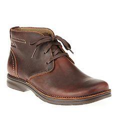 "Clarks Men's ""Senner Ave"" Chuka Boots in Brown"