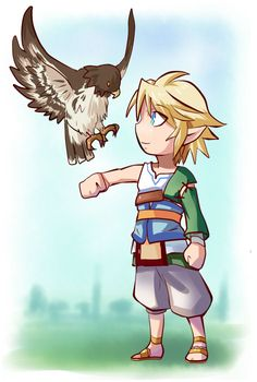 I always loved that little hawk you had in Twilight Princess. He needs to come back. With a name too.