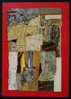 "Saatchi Art Artist Nobuko Umezaki; Collage, ""Holy Blessing"" #art"