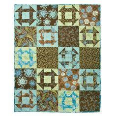 Studio Churn Dash Lap Quilt Pattern at AccuQuilt